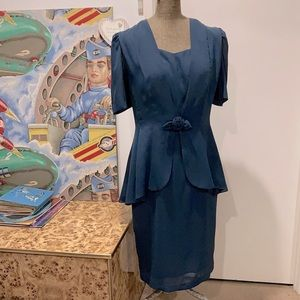 Vintage 40's style dress by Laura K